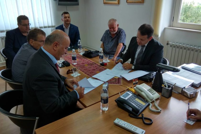 Potpisan 14,4 milijuna kuna vrijedan ugovor za izgradnju kanalizacijskog sustava Gruda
