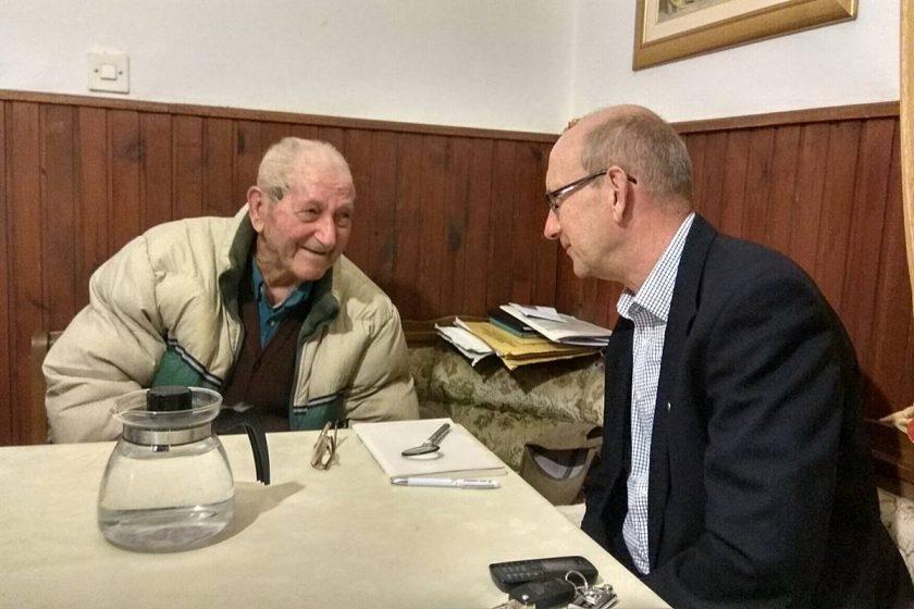 Načelnik Božo Lasić posjetio najstarijeg Konavljanina