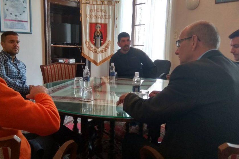 """Načelnik Lasić primio vlasnika nagrađivane Ville """"Falcon Rook"""""""