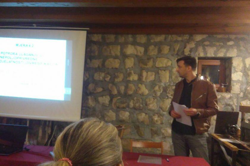 Održana prezentacija programa ruralnog razvoja za pokretanje nepoljoprivredne djelatnosti