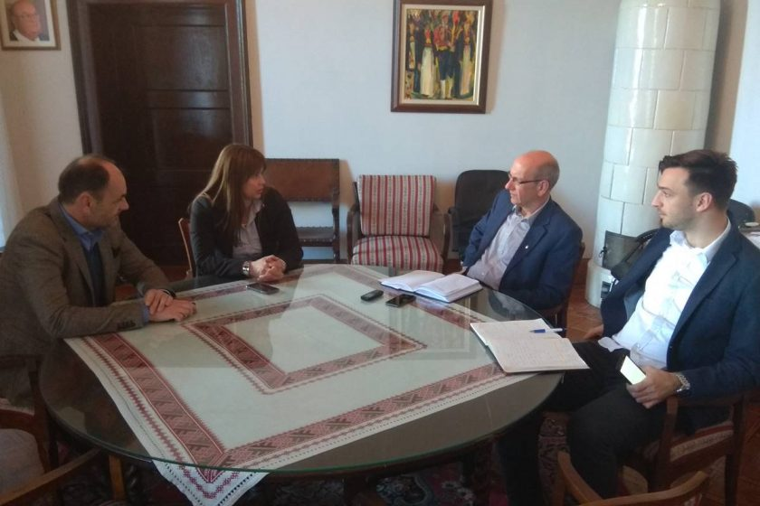 Načelnik Lasić primio državnu tajnicu Nikolinu Klaić