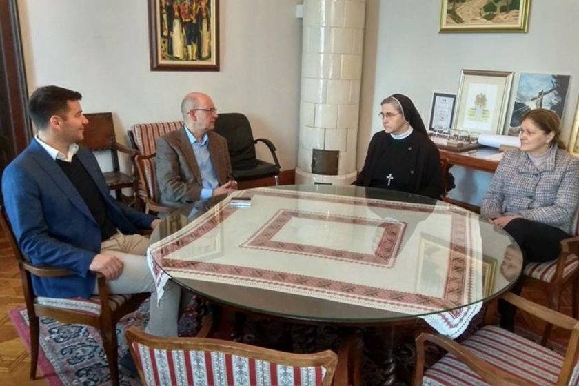 Načelnik Lasić primio provincijalnu predstojnicu Družbe Kćeri Milosrđa TSR Sv. Franje