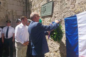 LokalnaHrvatska.hr Konavle Nacelnik Lasic sa suradnicima na obiljezavanju 101. godisnjice Otrantske bitke
