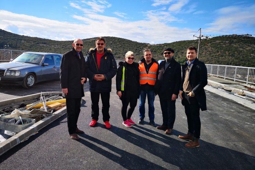 Načelnik Lasić obišao gradilište novog ulaza u Cavtat, cjelokupni radovi gotovi do sredine ožujka 2019. godine
