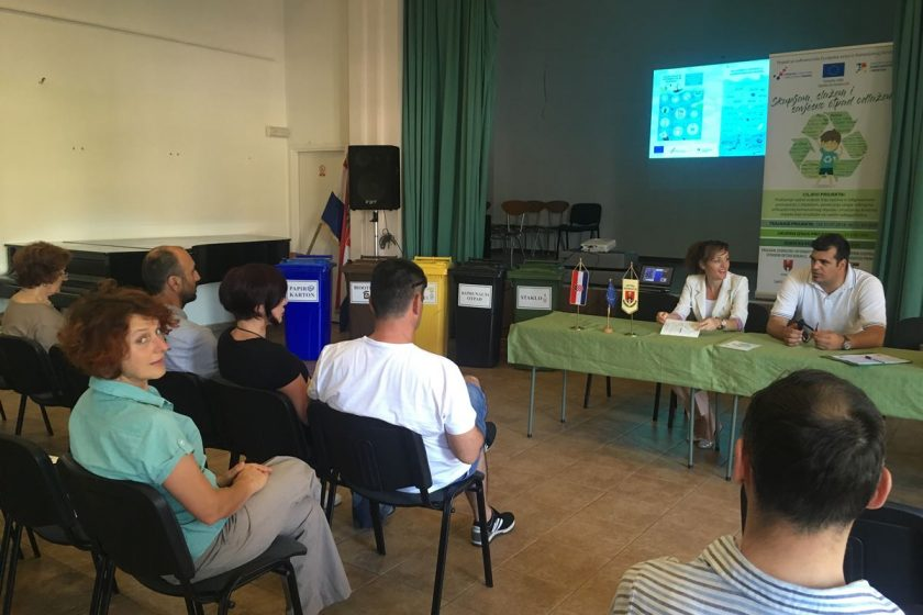 Održana prva javna i edukacijska tribina o održivom gospodarenju otpadom