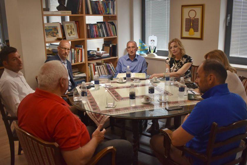Načelnik Lasić razgovarao s članovima Uprave HAZU-a o obnovi Bogišićeve kuće i Kneževa dvora u Cavtatu