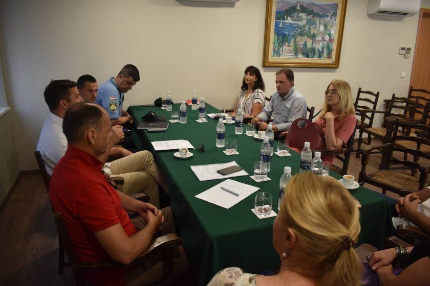Održana prva sjednica Vijeća za prevenciju kriminaliteta Općine Konavle