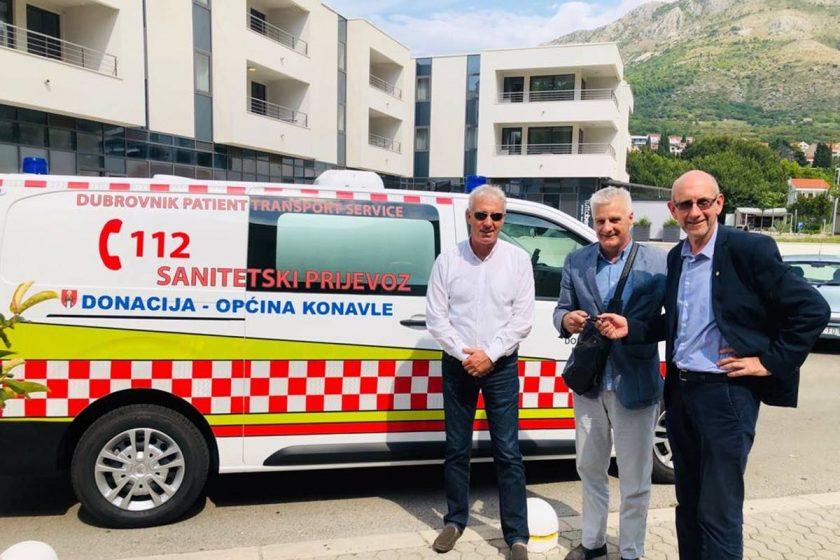 Donacijom Općine Konavle i Župa dubrovačka Dom zdravlja Dubrovnik bogatiji za još jedno vozilo