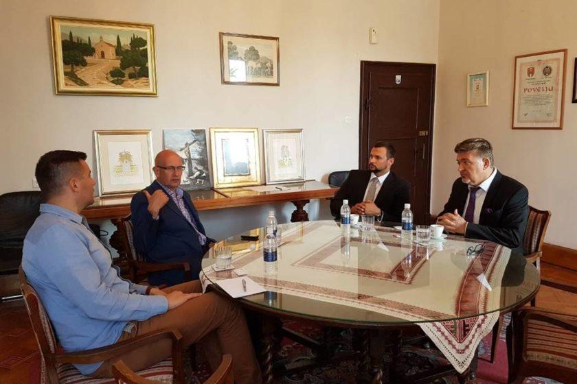 Načelnik Lasić ugostio hrvatskog veleposlanika i generalnog konzula Hrvata iz Crne Gore
