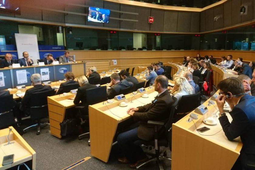 """Predstavnici Općine Konavle u Bruxellesu na konferenciji """"Zajedno do EU fondova – za bolju prometnu povezanost"""""""