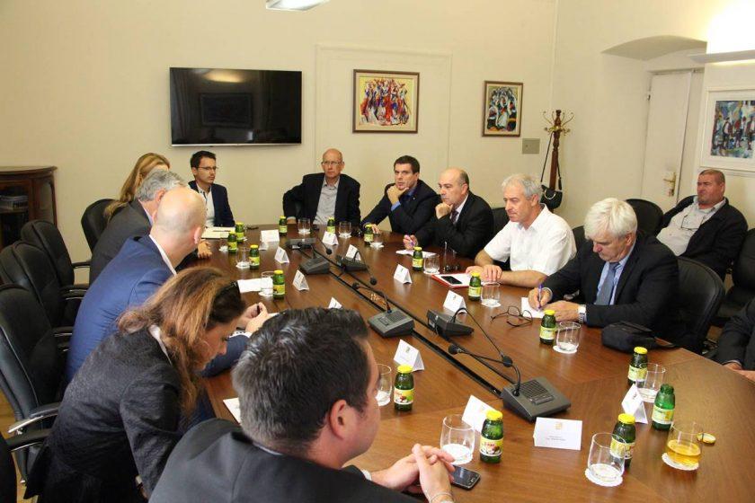 Načelnik Lasić s ministrom Tolušićem razgovarao o komasaciji Konavoskog polja