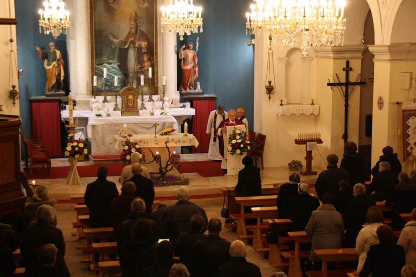 Povodom 18. obljetnice smrti dr. Franja Tuđmana u Čilipima služena sveta misa
