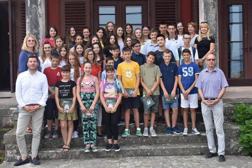 Načelnik Lasić primio najbolje učenike Osnovne škole Cavtat i Gruda