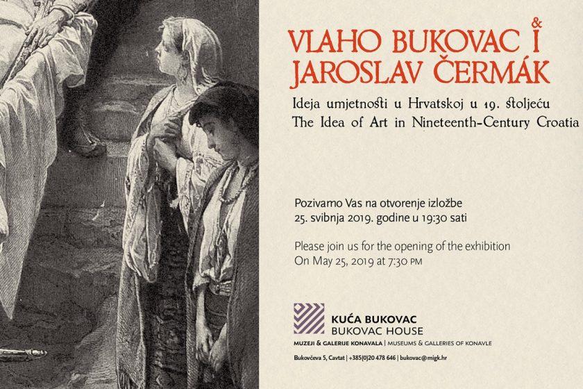 """U Cavtatu izložba Vlaho Bukovac i Jaroslav Čermák – """"Ideja umjetnosti u Hrvatskoj u 19. stoljeću"""""""