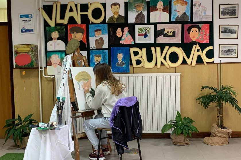 Osnovna škola Cavtat u znaku Vlaha Bukovca