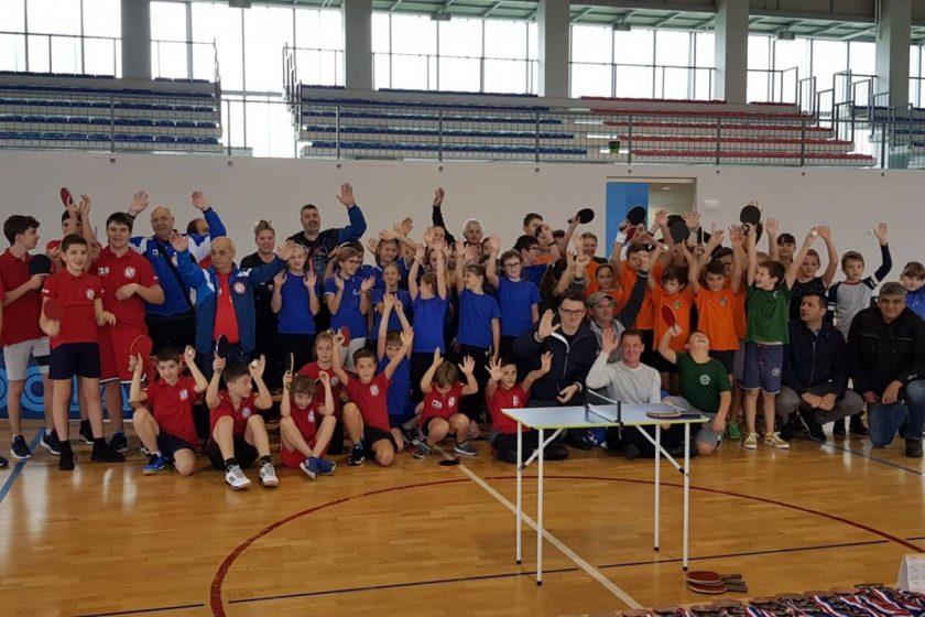 Na Grudi održano 10. Županijsko prvenstvo u stolnom tenisu, STK Konavljanin ostvario odlične rezultate