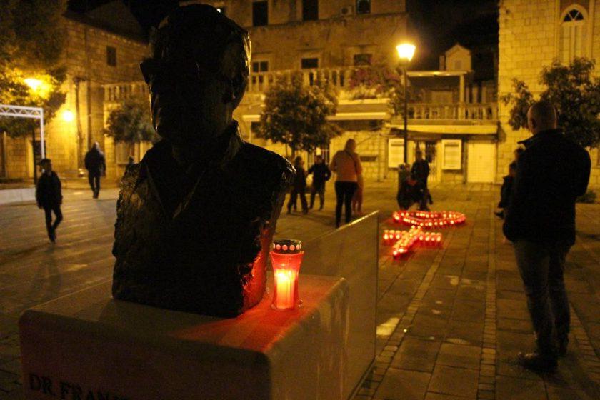 Diljem Konavala pale se svijeće u spomen na žrtvu Vukovara