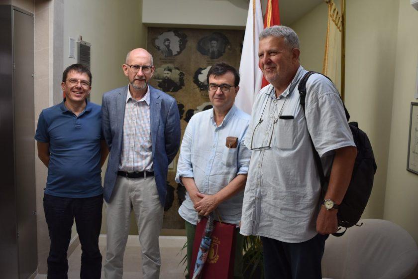 Načelnik Lasić primio španjolskog pisca Javiera Cercasa
