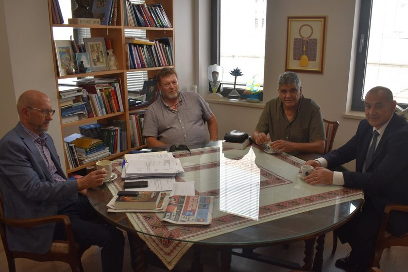 Načelnik Lasić se sastao s ministrom hrvatskih branitelja Tomom Medvedom