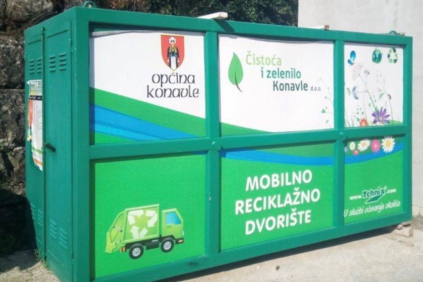 Raspored Mobilnog reciklažnog dvorišta za jesenski period